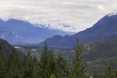 Landscape near Squamish, British Columbia Stock Images