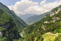 Landscape near Stenico (Trento) Royalty Free Stock Photos