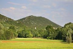 Landscape near Studenci. Bosnia and Herzegovina Royalty Free Stock Images