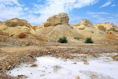 Landscape Near The Dead Sea, Israel Stock Photography