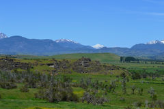 Landscape near to Coyhaique, Chilean Patagonia Royalty Free Stock Images