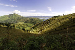 Landscape near Toba lake in Sumatra Stock Images