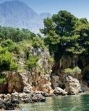 Landscape near by Tucepi stock photo