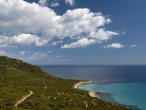Landscape near Villasimius, Sardinia, Italy Stock Photography