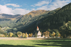 Landscape near Vipiteno - Sterzing Royalty Free Stock Image