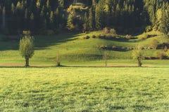 Landscape near Vipiteno - Sterzing Stock Photo
