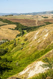 Landscape near Volterra (Tuscany) Royalty Free Stock Photo