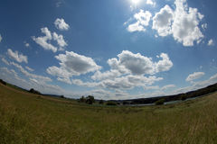 Landscape. Near zurich with cloud Royalty Free Stock Image