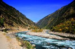 Landscape of Neelum Valley kashmir Pakistan! Royalty Free Stock Photography