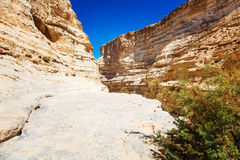 Landscape of the Negev desert mountains Stock Photo