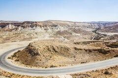 Landscape Negev desert Stock Photo