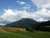 Landscape from neighbours of Cortina d'Ampezzo Stock Photos