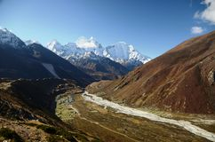 Landscape of Nepal Royalty Free Stock Images