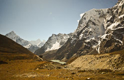 Landscape of Nepal Stock Image