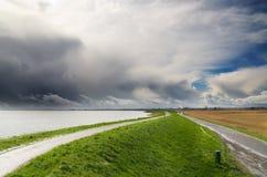 Landscape in the netherlands Stock Image