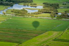 Landscape of the Netherlands Stock Photos