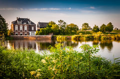 Landscape in the netherlands Stock Photo