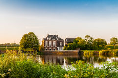 Landscape in the netherlands Stock Image