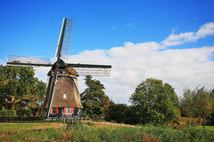 The landscape in the Netherlands Royalty Free Stock Image