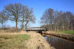 Landscape in The Netherlands Stock Photography