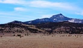 Landscape of New Mexico. The landscape of New Mexico between  Santa Fe and Farmington Stock Photo