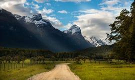 Landscape of New Zealand Stock Photo