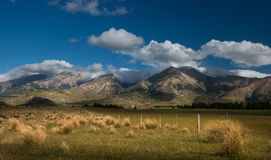 Landscape of New Zealand Stock Image