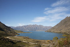The Landscape of New Zealand. The landscapes of south island of New Zealand Royalty Free Stock Photo