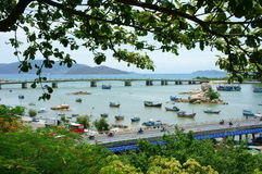 Landscape, Nha Trang beach city Royalty Free Stock Photography
