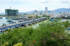 Landscape, Nha Trang beach city Stock Images