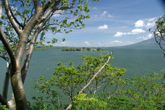 Landscape in Nicaragua Royalty Free Stock Photos