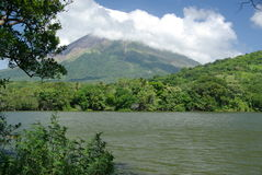 Landscape in Nicaragua Royalty Free Stock Image