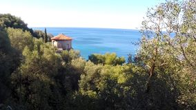 Landscape in Nice, France stock video footage