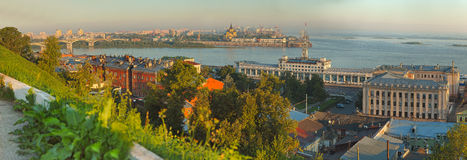 Landscape of Nizhniy Novgorod Stock Photo