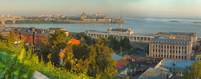 Landscape of Nizhniy Novgorod Royalty Free Stock Photography
