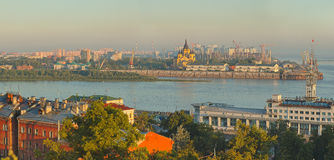 Landscape of Nizhniy Novgorod Stock Images