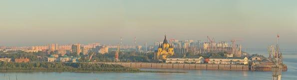 Landscape of Nizhniy Novgorod. In Russia Royalty Free Stock Image