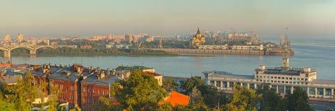 Landscape of Nizhniy Novgorod. In Russia Stock Photo