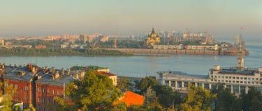 Landscape of Nizhniy Novgorod Stock Images