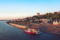 Landscape of Nizhny Novgorod Stock Images