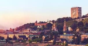 Landscape of Nizhny Novgorod Stock Photo