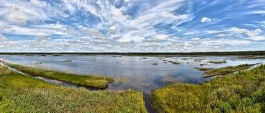 Landscape. A non-urban landscape of a lake royalty free stock photo