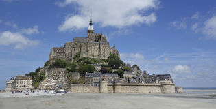 Abbey of Mont Saint Michel. France in summer. Stock Photo
