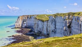 Landscape in Normandy Stock Photography
