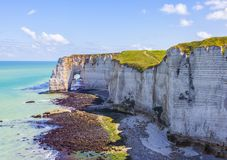 Landscape in Normandy Royalty Free Stock Images