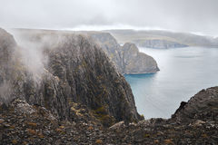 Landscape at the north cape Stock Images