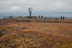 Landscape at the north cape Royalty Free Stock Image