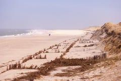 Landscape on North Frisian island of Amrum Royalty Free Stock Photos