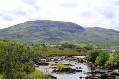 Ireland: Landscape in the north of Ireland Royalty Free Stock Photography