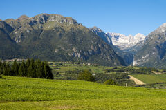 Landscape north Italy Royalty Free Stock Image
